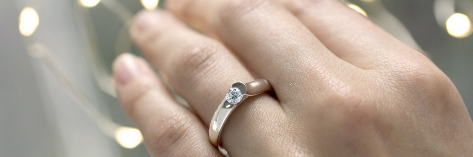 Shop all Inspired Jewellery contemporary diamond engagement rings