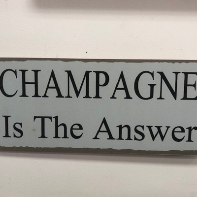 Sign Champagne