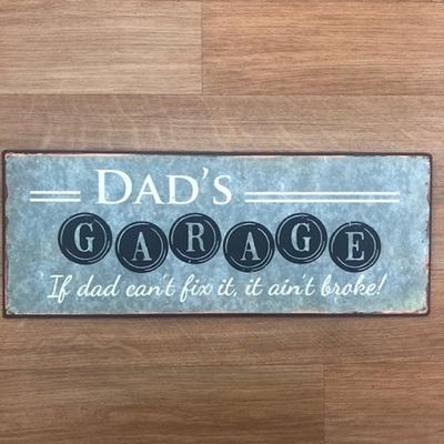 Sign Dad's Garage