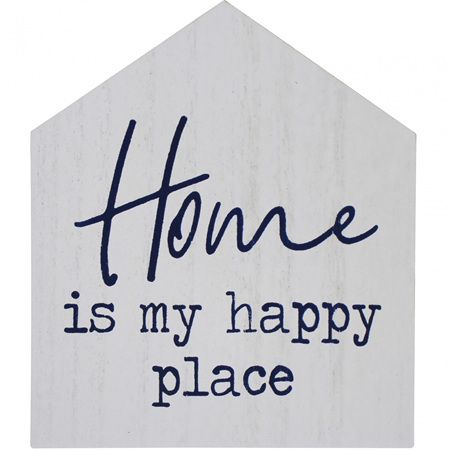 Sign - Home Is My Happy Place