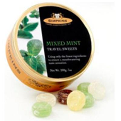 Simpkins Travel Sweets - Mixed Mint
