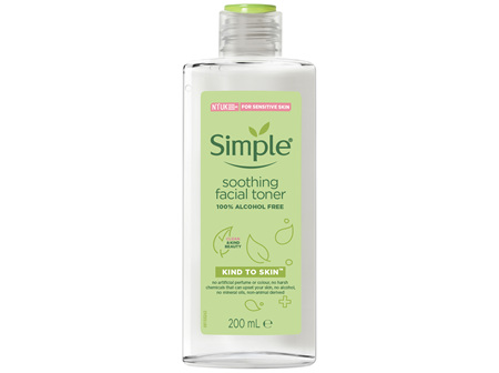 Simple Facial Toner Soothing 200ml