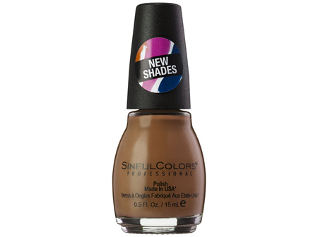 SinfulColors Professional Polish in Hot Toffee