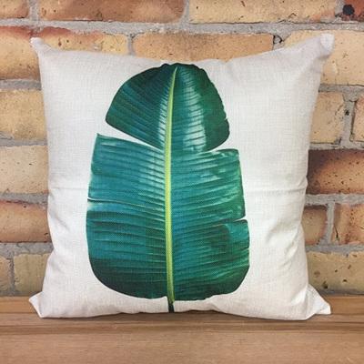 Single Banana Leaf Cushion