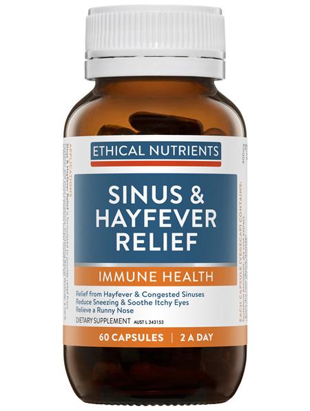 Sinus & Hayfever Relief 60 Capsules
