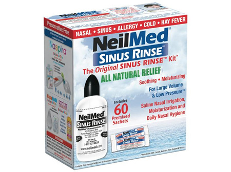 SINUS RINSE KIT LARGE 240ML 60 sachets