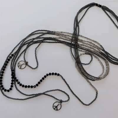 Sioux Peace Layer Necklace - Slate WAS $39.90
