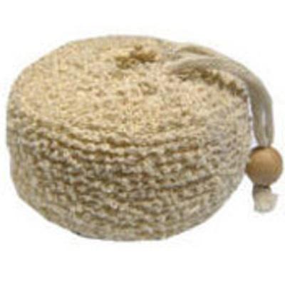 Sisal/Terry Bath Sponge Round