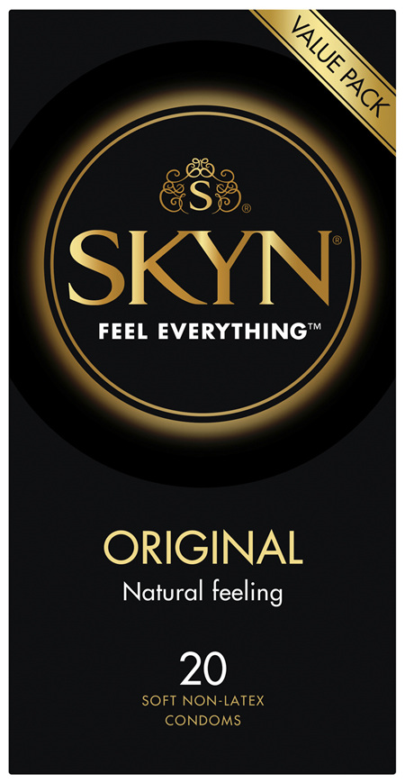 Skyn Original Soft Non-Latex Condoms 20 Pack