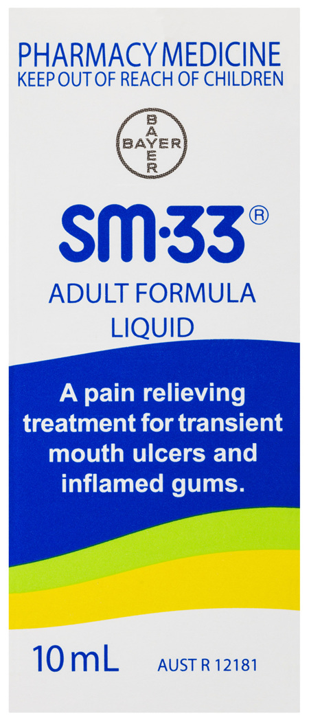 Sm33 Adult Liquid 10mL