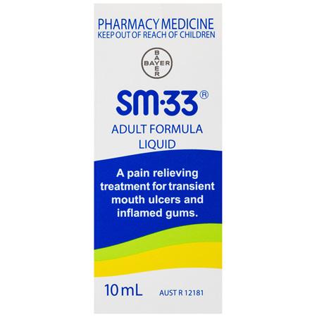 Sm33 Adult Liquid 10mL