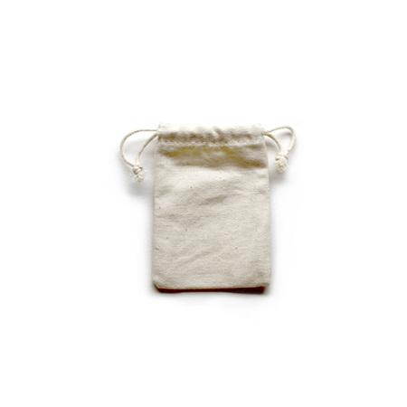 Small Canvas Drawstring Bag