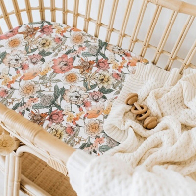 Snuggle Hunny Kids - Australiana Bassinet Sheet