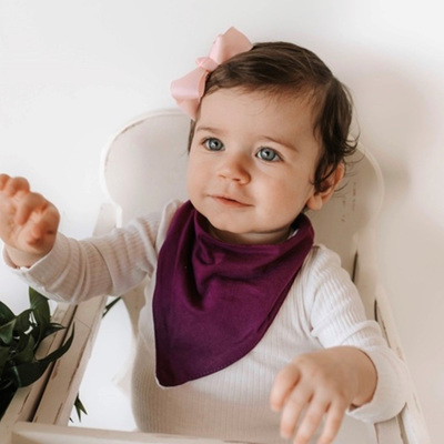 Snuggle Hunny Kids - Fig Bib