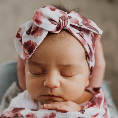 Snuggle Hunny Kids - Fleur Topknot Headband