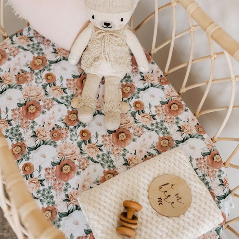 Snuggle Hunny Kids Florence Bassinet Sheet