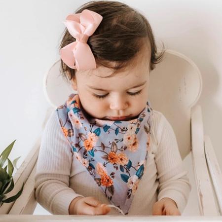 Snuggle Hunny Kids - Vintage Blossom Bib