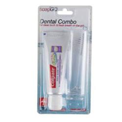 SOAP2GO 2In1 Dental Travel Set