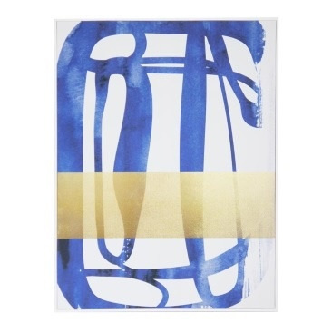 Soar Classic Canvas W Foil White Frame 90x120cm