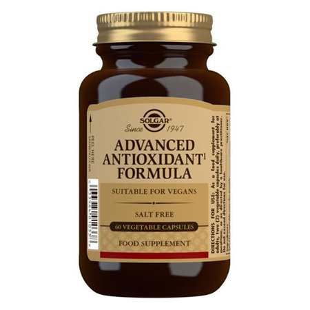 SOLGAR Advanced Antioxidant Formula 60s