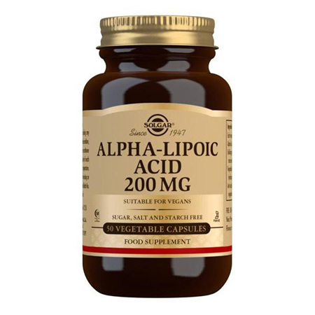 SOLGAR Alpha Lipoic Acid 200mg 50