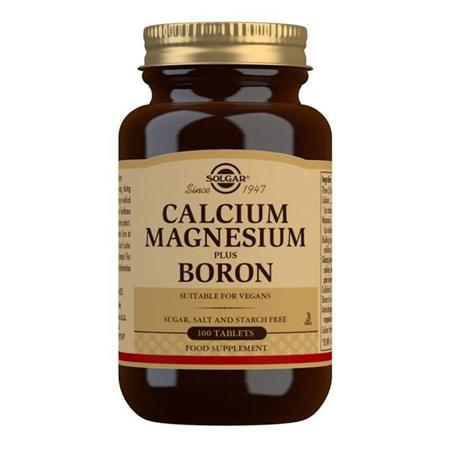 SOLGAR Calcium Magnesium Boron 100tab