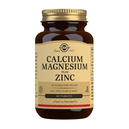SOLGAR Calcium Magnesium Zinc 100tab
