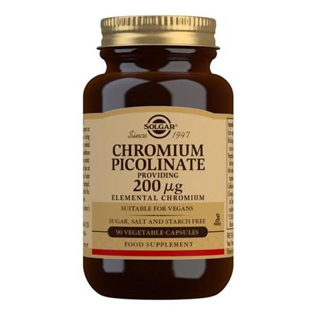 SOLGAR Chromium Picolinate 200mcg 90s