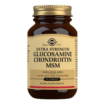SOLGAR Glucosamine Chondroitin MSM 60s