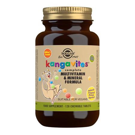 SOLGAR Kangavites Tropical Punch 120s