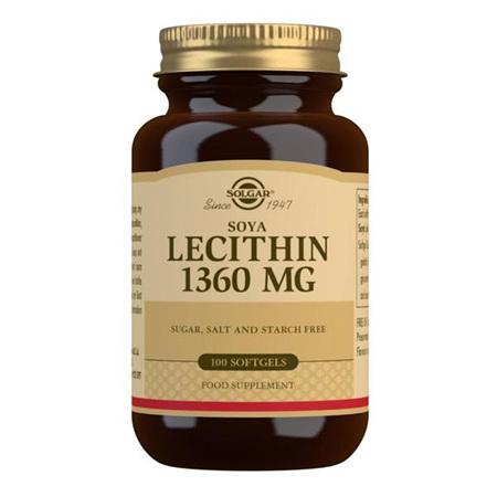 SOLGAR Lecithin 1360mg 100s