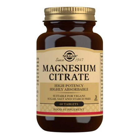 SOLGAR Magnesium Citrate 60s