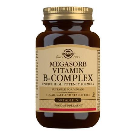 SOLGAR Megasorb Vit B-Complex 50s