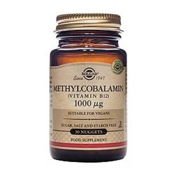 SOLGAR Methylcobal. 1000mcg Nug. 30