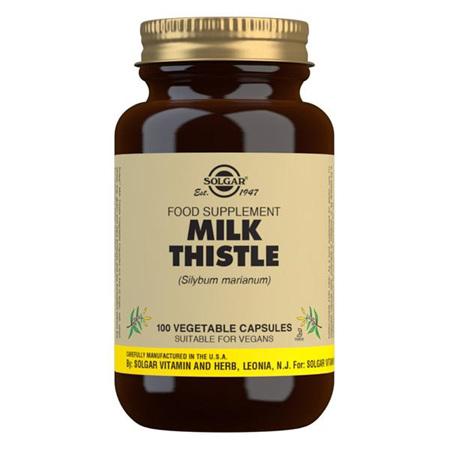 SOLGAR Milk Thistle 100mg 50