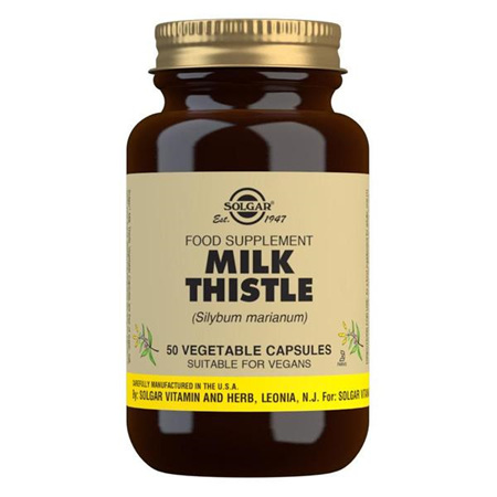 SOLGAR Milk Thistle 100mg 50