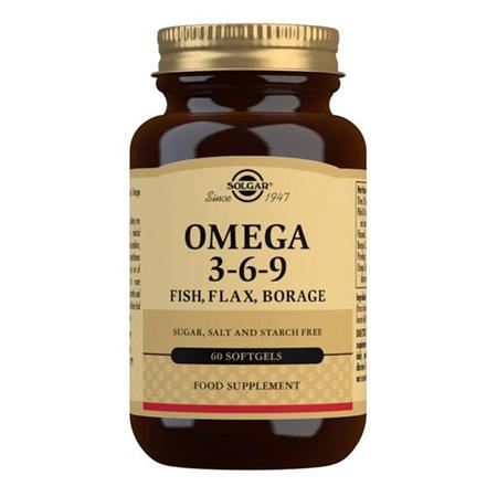 SOLGAR Omega 3-6-9 60s