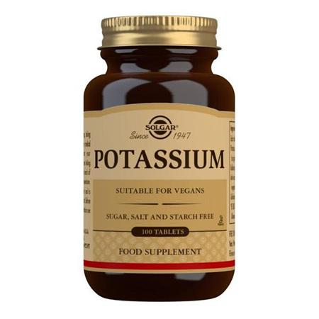 SOLGAR Potassium 595mg 100tab