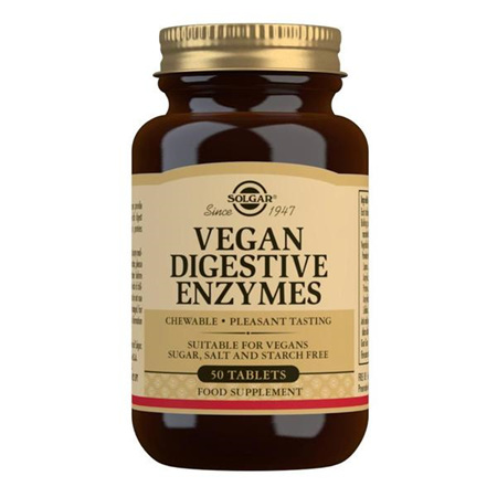 SOLGAR Vegan Digestive Enzymes 50s