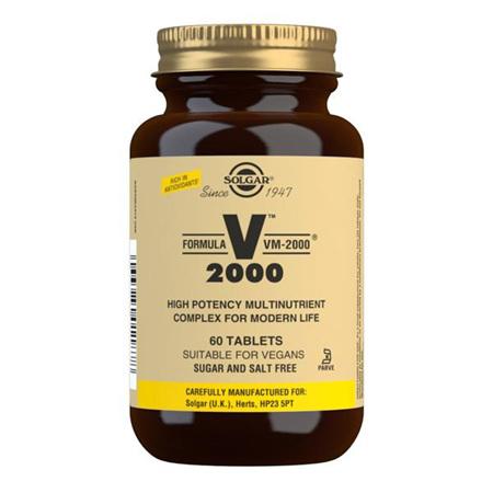SOLGAR VM2000 Mult-Nutrient 60tab