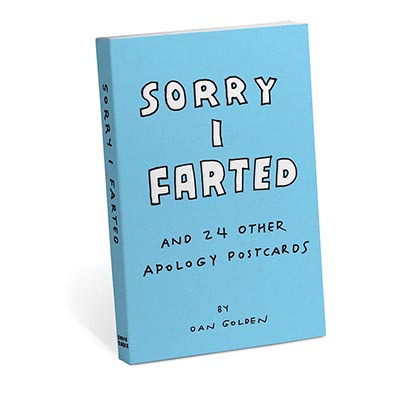 Sorry I Farted - Tear-Out Postcards