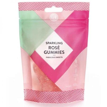 Sparkling Rose Gummies - Bag 100g