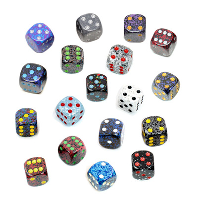 'Speckled' Six Sided Dice