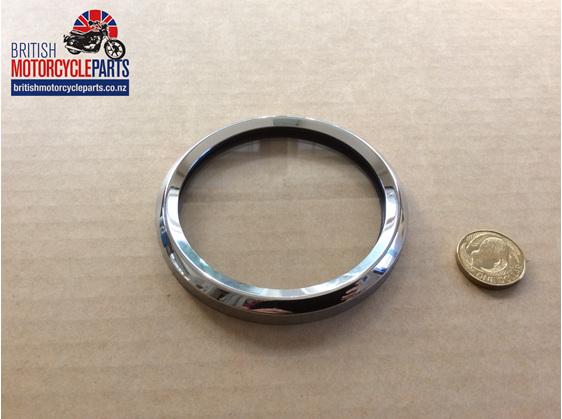 Speedo Tacho Bezel Kit - Smiths Magnetic Clocks - British Motorcycle Parts NZ