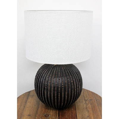 Spina Table Lamp - Chocolate