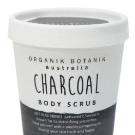 Splotch 200gm Tub Cream Body Scrub - Charcoal