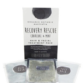 Splotch Pamper Pack Recovery Rescue - Face - Charcoal
