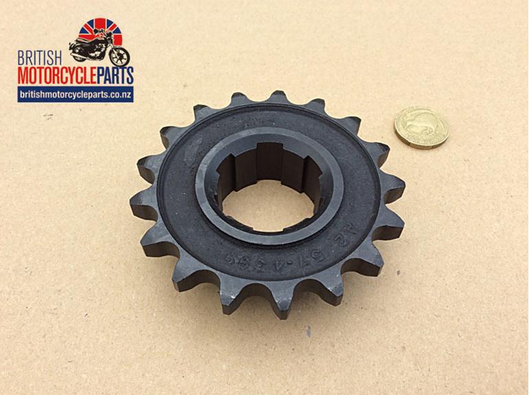 SPR-5SP17T Gearbox Sprocket - 17 Tooth - Triumph 5 Speed
