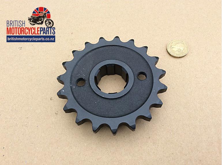 SPR-5SP19 Gearbox Sprocket - 19 Tooth - Triumph 4 Speed