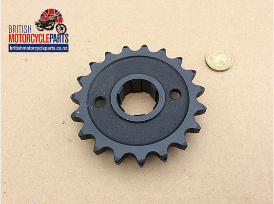 SPR-5SP19 Gearbox Sprocket - 19 Tooth - Triumph 4 Speed